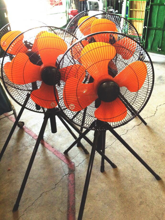 工場扇(大型扇風機)
